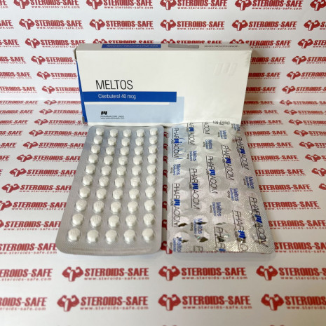 Meltos (Clenbuterolo) 40 mcg Pharmacom Labs