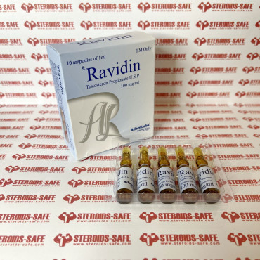 Ravidin (Testosterone Propionate U.S.P.) 100 mg AdamLabs